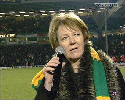 Delia Smith where are you, let's be having you