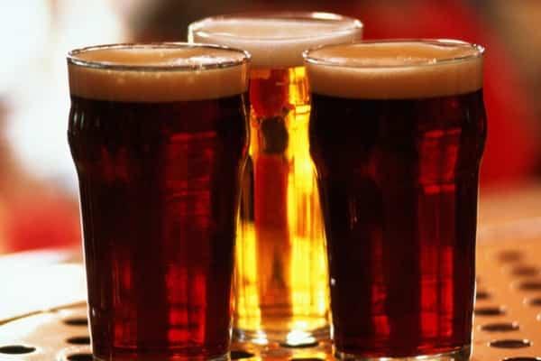 Drinking beer better for brain'