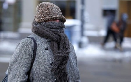 Freezing Cold Woman World's coldest woman ...