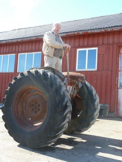 tractor segway
