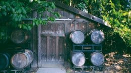 garden shed beer