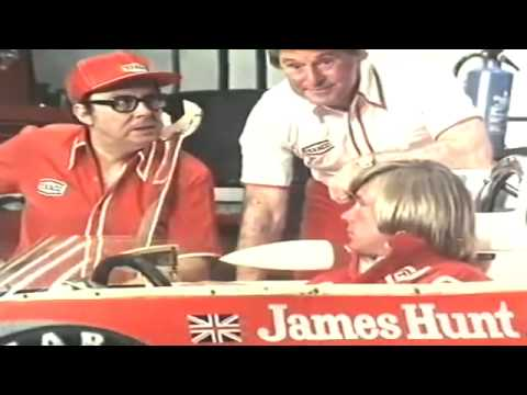 eric morecambe ernie wise james hunt texaco