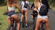 Ladies cycling