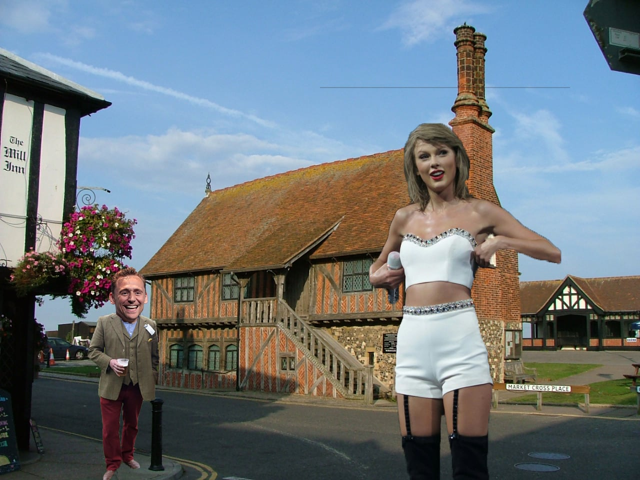 Taylor Swift Tom Hiddleston Aldeburgh