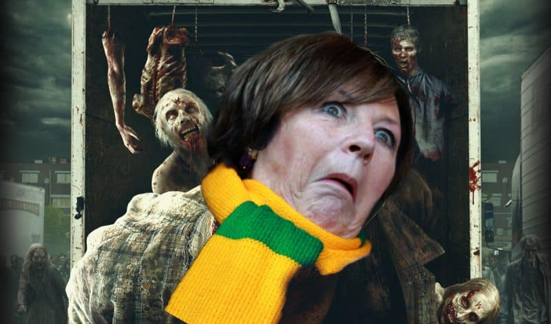 Delia Smith Walking Dead poster