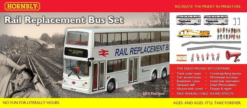 Greater Anglia rail replacement bus set