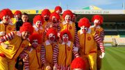 Norwich City clowns