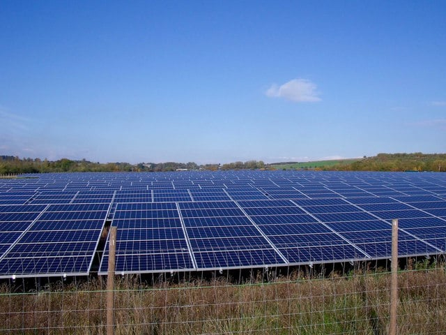Solar farm Norfolk