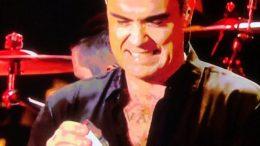Robbie Williams hand gel
