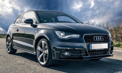 Audi courtesy car