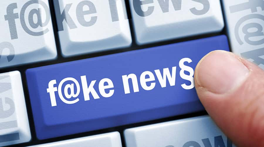 Fake news banned on Facebook