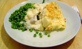 Fish pie plagiarism row splits village