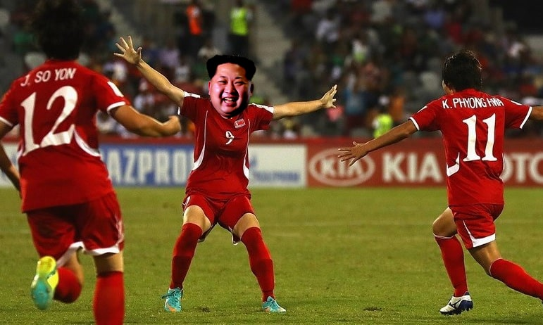 Kim Jong-un scores nine goals as North Korea crush Vietnam in World Cup qualifier