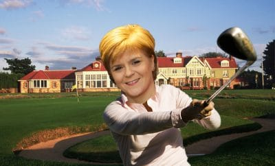 Nicola Sturgeon Muirfield vote