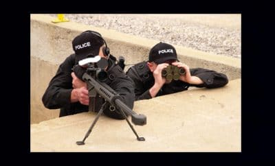 Police shoot dawdlers