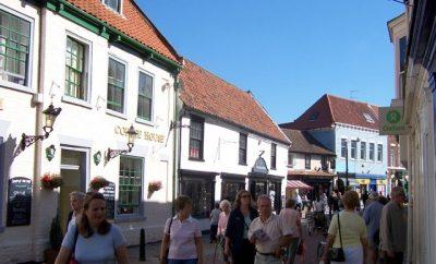 town centre high street