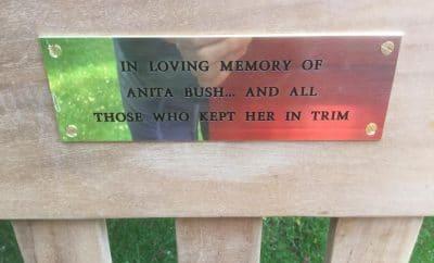 Anita Bush plaque