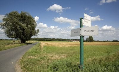 Boring Belgium countryside
