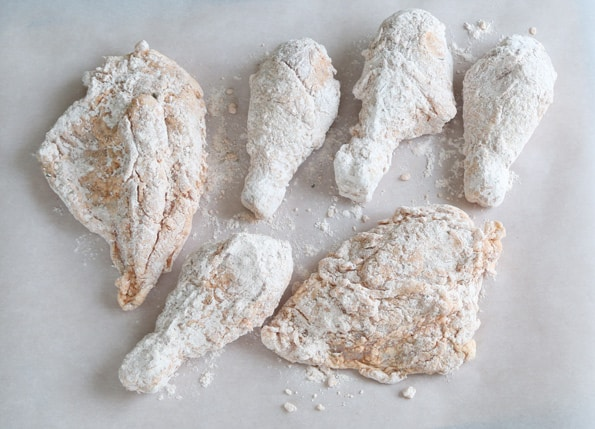 Fried chicken laced with cocaine