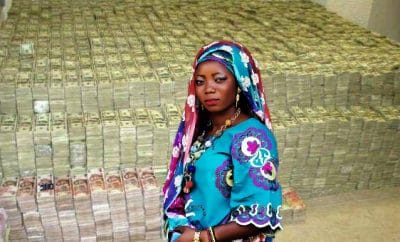 Nigerian widow had millions in dollars