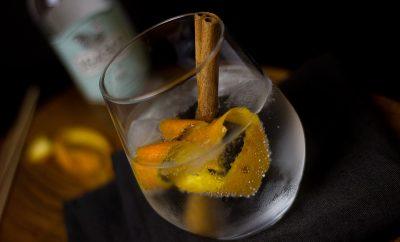 Artisan gin menu