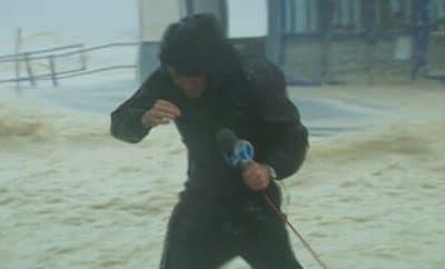 reporter hurricane