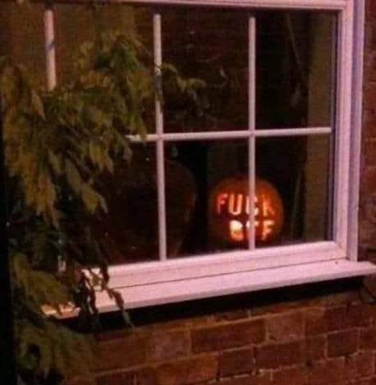rude pumpkin