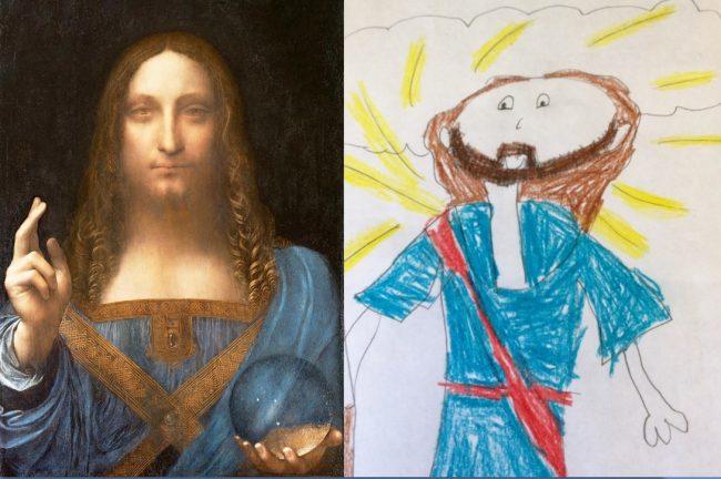 New painting of Jesus