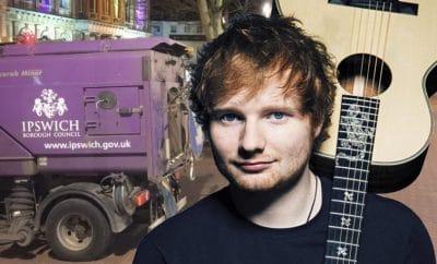 Ed Sheeran Ipswich