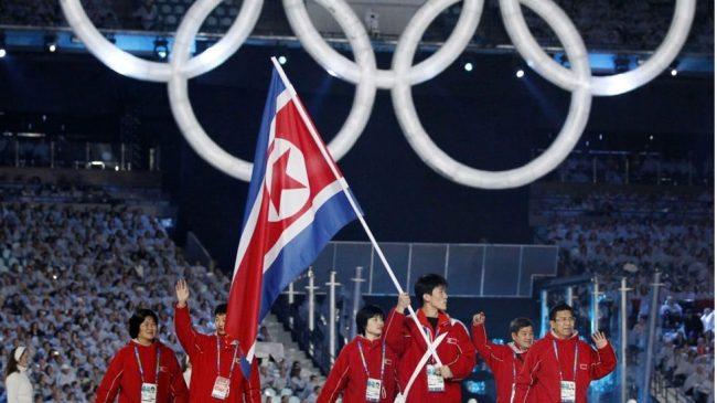 Is North Korea Winter Olympics team training in Walberswick?