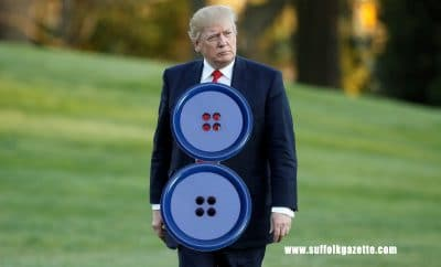 Trump button