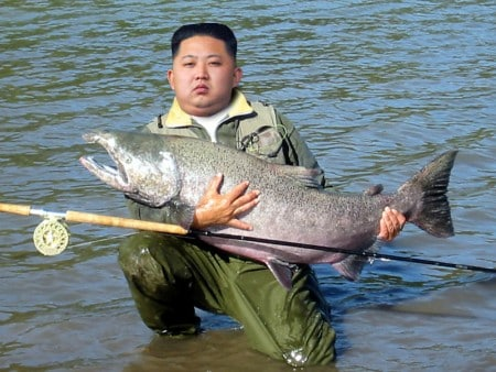 kim jong-un fishing