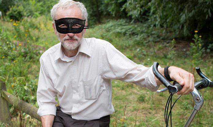 Mystery masked man