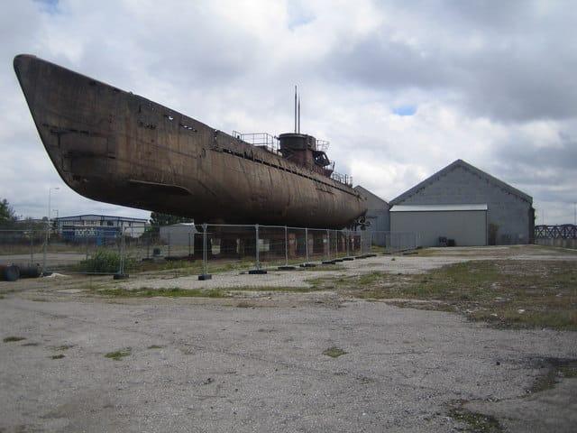 german submarine Ipswich