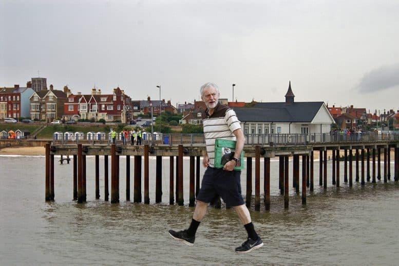 Jeremy Corbyn Walks on Water