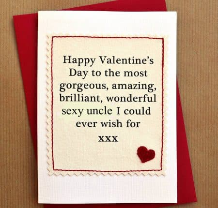 Norfolk valentines day card