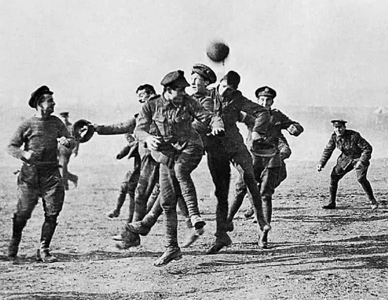Christmas Day truce football