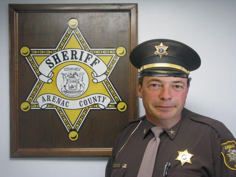 Nigel Farage sheriff