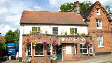 Greyhound pub in Ipswich