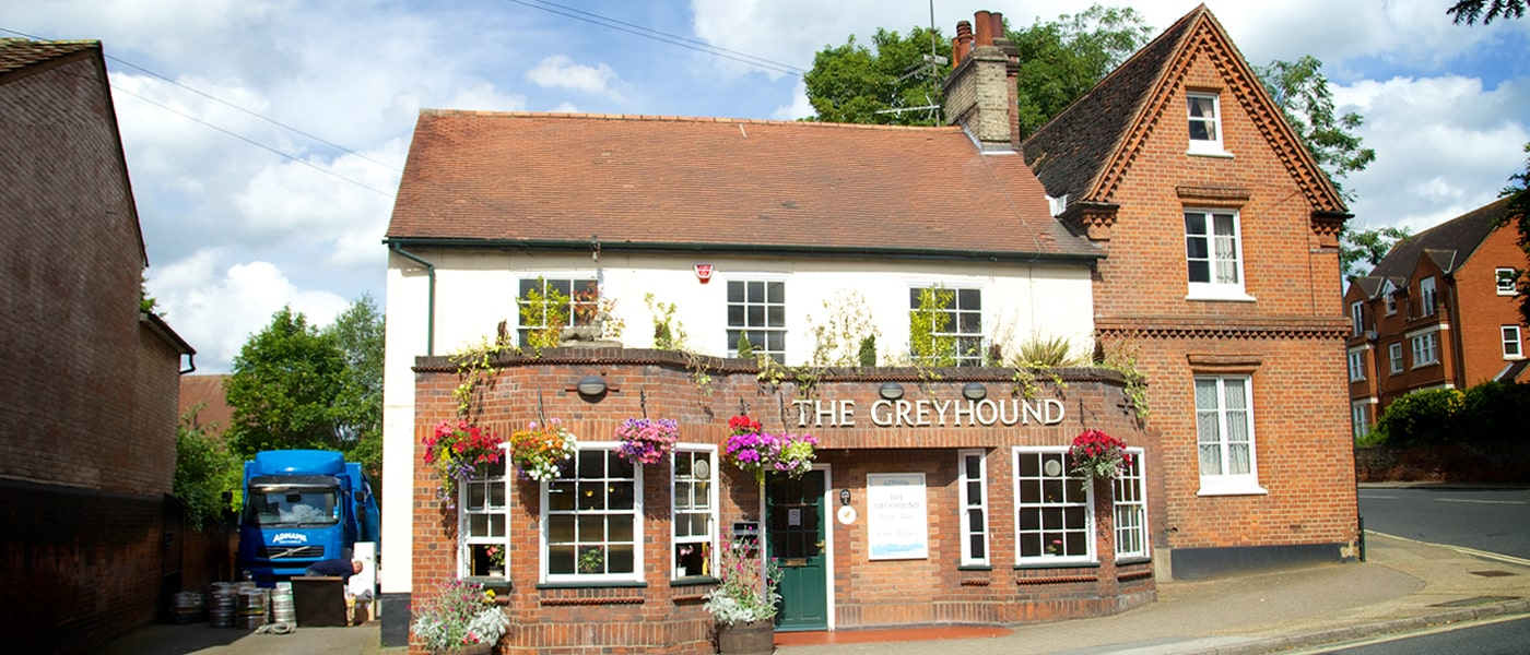 Greyhound pub in Ipswich