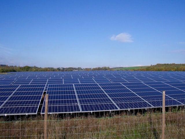 Solar farm Norfolk