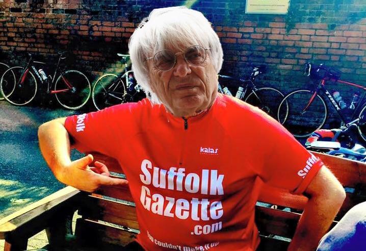 Bernie Ecclestone joins the Suffolk Gazette board