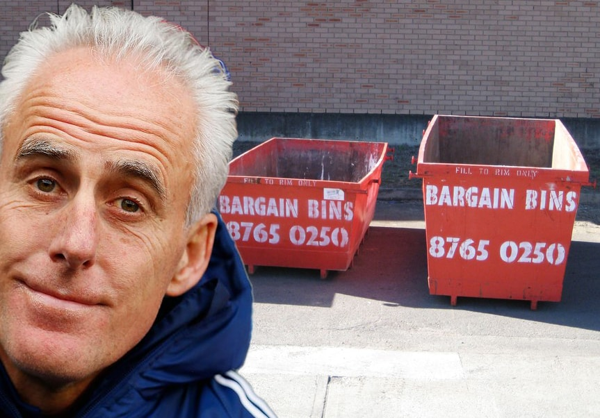 Mick McCarthy is the new face of Bargain Bins