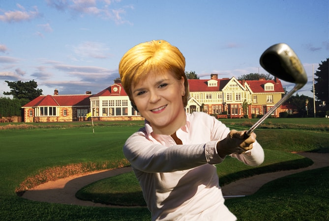 Nicola Sturgeon Muirfield vote