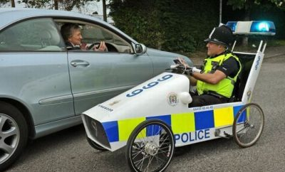 New Suffolk Police car