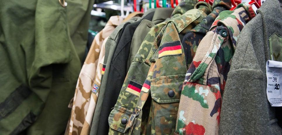 SLF uniforms