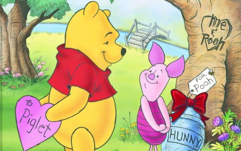 Winnie the Pooh naked