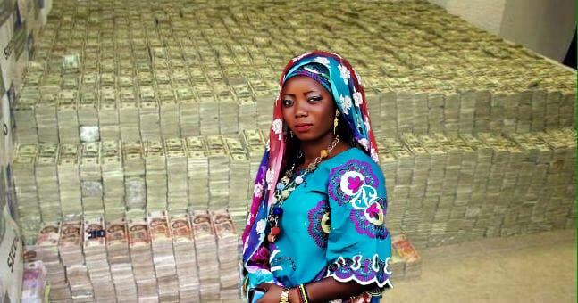 Nigerian widow had millions in dollars