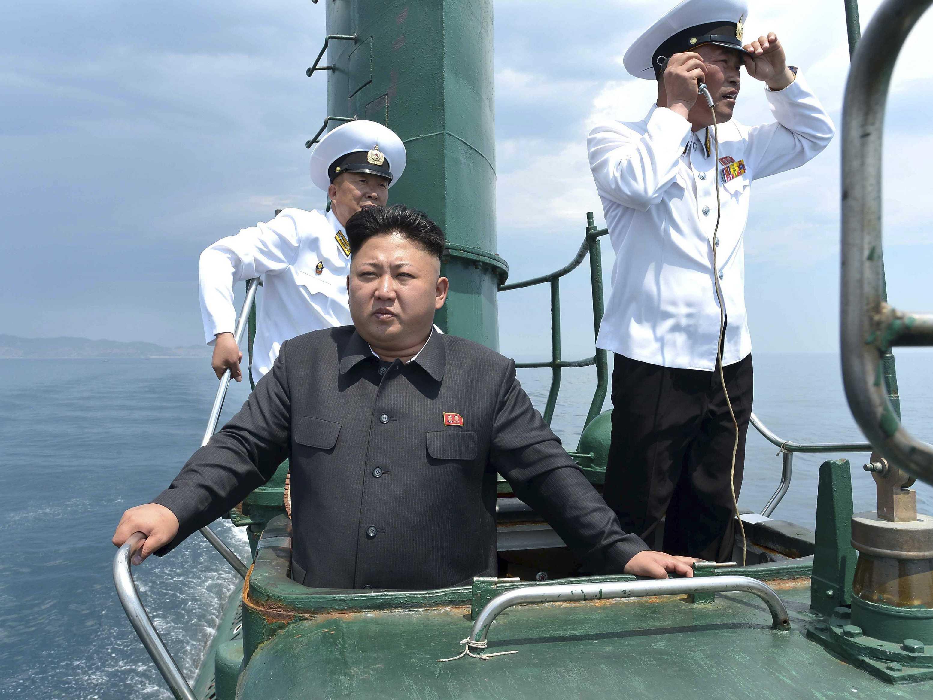 North Korea submarine Suffolk