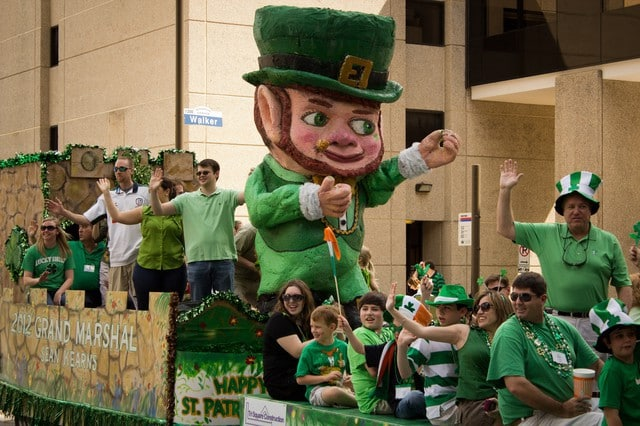 Irish fans cheer England